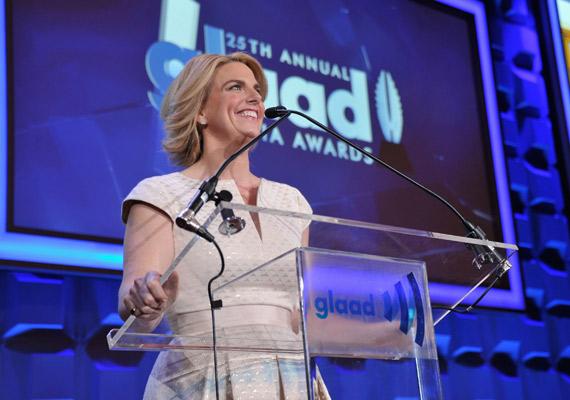 Sara Kate Ellis at the GLAAD Media Awards