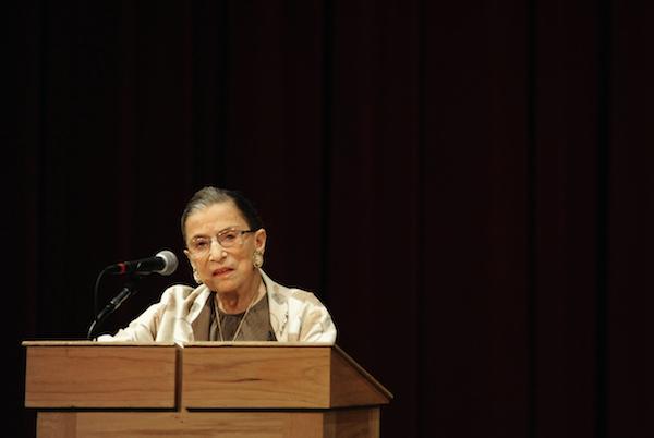 Ruth Bader Ginsburg - Credit Josh Edelson, Stanford Law/flickr