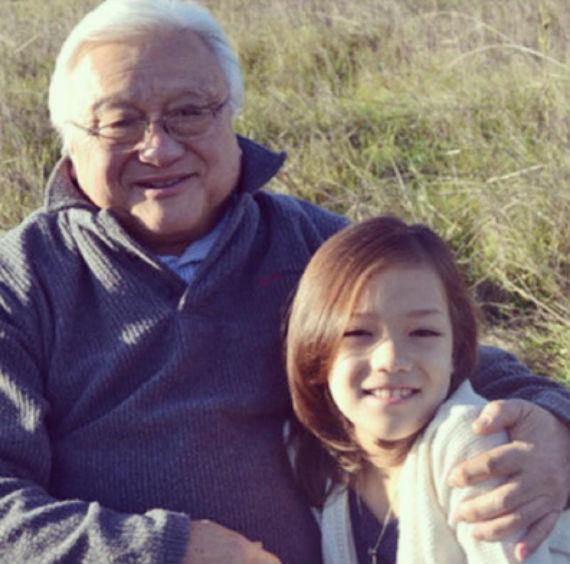 U.S. Rep. Mike Honda (D-Calif.) with his granddaughter