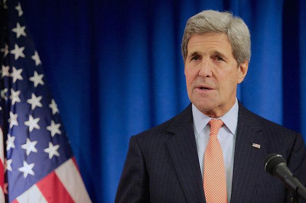 John Kerry - Credit: State Department