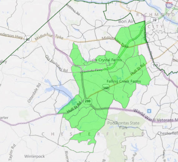 Virginia House of Delegates District 27.