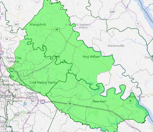 Virginia House of Delegates District 97.