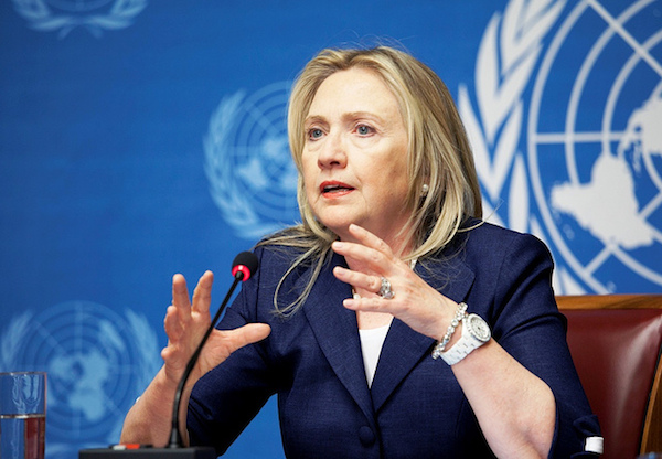 Hillary Clinton - Credit: Eric Bridiers/State Department