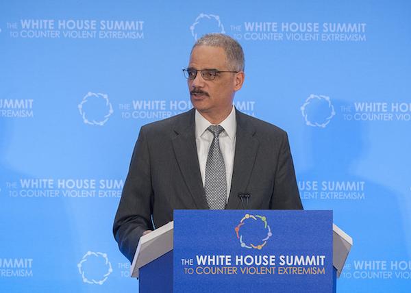 Eric Holder - Credit: State Department/flickr