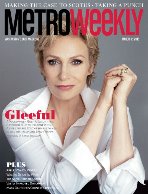 Jane Lynch portrait cover web