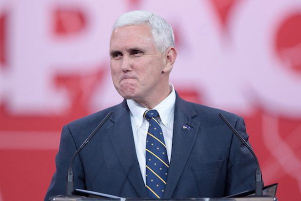 """Mike Pence thinks it's """"deeply offensive"""" that people object to Karen Pence teaching at anti-LGBTQ school"""
