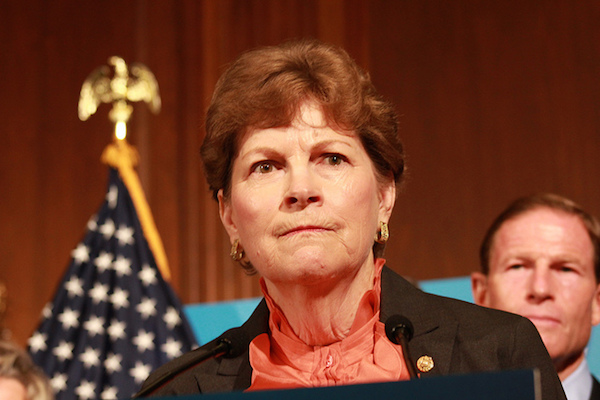 Jeanne Shaheen - Credit: Lingjing Bao/Talk Radio News/flickr