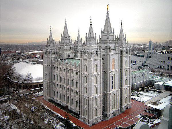 Salt Lake Utah Temple - Credit: Michael Whiffen/flickr