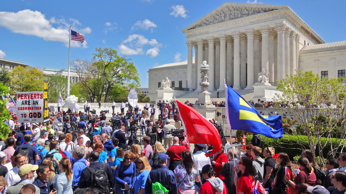 Supreme Court Arguments Day Same Sex