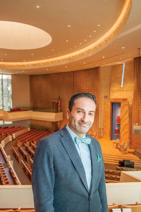 Rabbi Gil Steinlauf -- Photo by Todd Franson