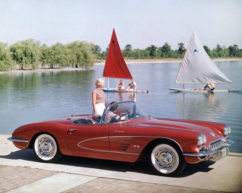 Chevrolet Corvette Convertible, 1960 , Credit - GM