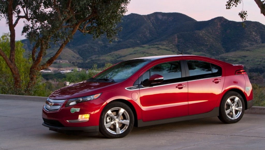 Chevrolet Volt, 2012, Credit - GM
