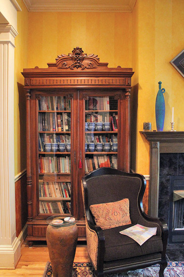 Capitol Hill House Tour: Library -- Photo courtesy of Patrick Crowley