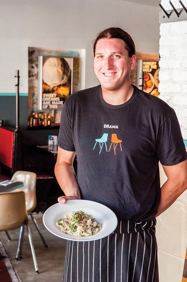 Duplex Chef Mark Mulvey Fresh Pappardelle - Photo: Todd Franson