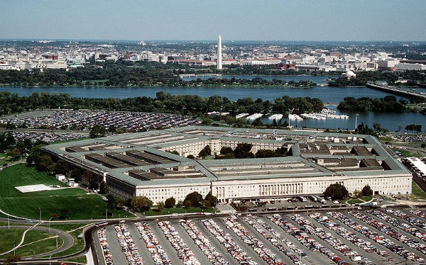The Pentagon. Photo credit: Department of Defense, photo by Master Sgt. Ken Hammond, U.S. Air Force, via Wikimedia Commons.