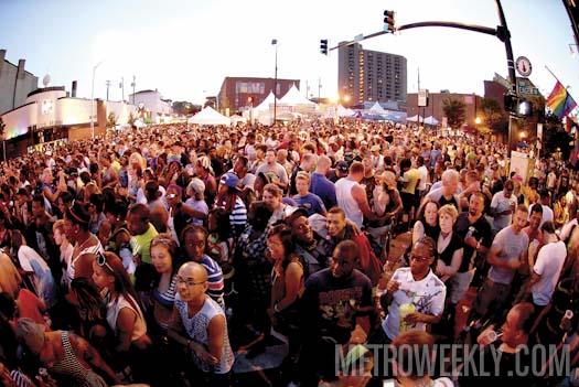 Baltimore Pride Block Party - Photo: Ward Morrison
