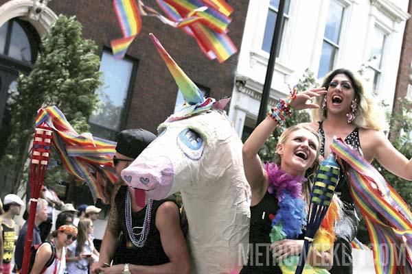 Baltimore Pride Parade - Photo: Ward Morrison / Aram Vartian