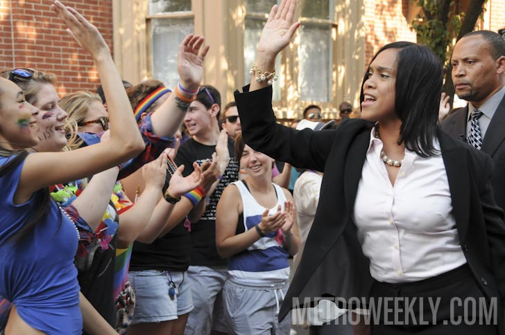 Baltimore Pride 2015 - Marilyn J. Mosby