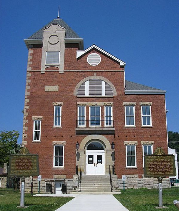 The old Rowan County Courthouse (Photo credit: W.marsh, via Wikimedia Commons.)