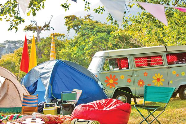 Festival Camping - Photo: wavebreakmedia