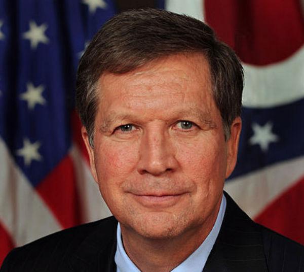 Ohio Gov. John Kasich (Credit: Office of Ohio Governor John Kasich, via Wikimedia Commons.)