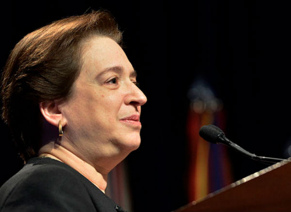 Upon the 6th Circuit's refusal to grant a stay, lawyers for Rowan County Clerk Kim Davis may attempt to request one from Supreme Court Justice Elena Kagan, who oversees the 6th Circuit (Photo credit: Glenn Fawcett, via Wikimedia Commons).