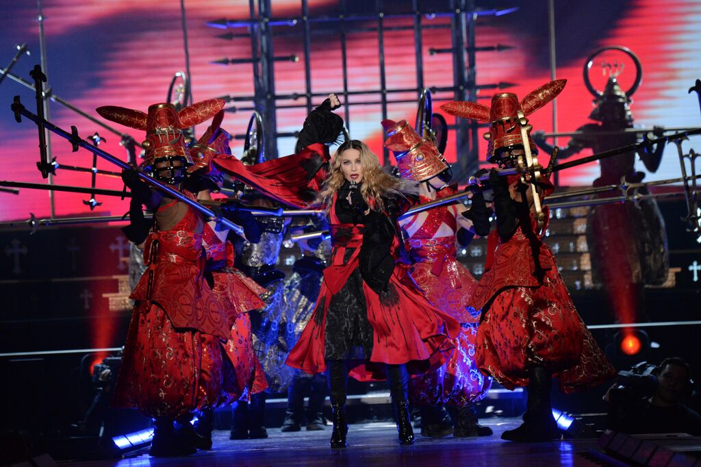 Madonna's Rebel Heart Tour - Photo: Kevin Mazur for WireImage/Getty