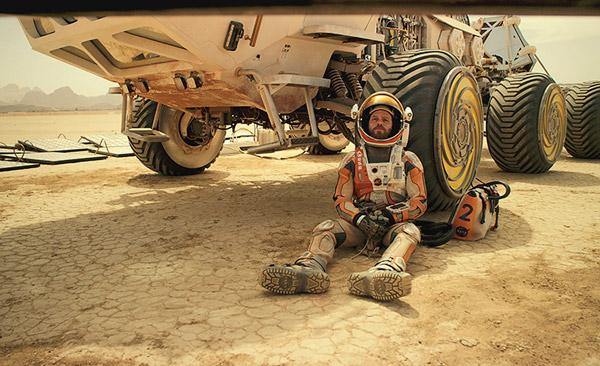 The Martian: Matt Damon