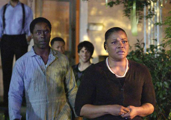 Blackbird: Isaiah Washington and Mo'Nique - Photo via BlackbirdTheFilm