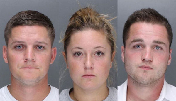Harrigan, Knott and Williams (Photos: Philadelphia Police Department).