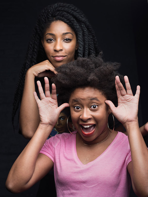 Phoebe Robinson and Jessica Williams