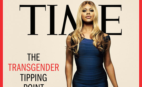 Laverne Cox on cover of Time