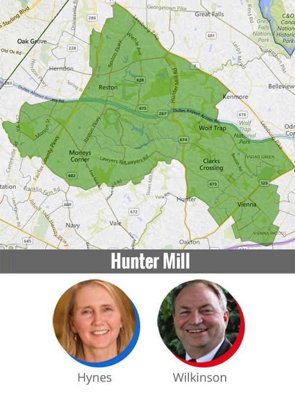 Fairfax County School Board candidates, Hunter Mill District.