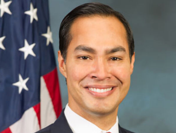 HUD Secretary Julian Castro (U.S. Dept. of Housing and Urban Development, via Wikimedia Commons).