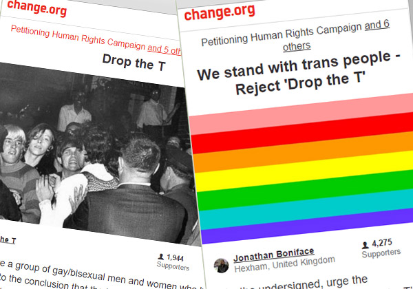 Change.org petitions