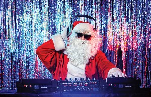 Santa as DJ - Photo: Kiselev Andrey Valerevich