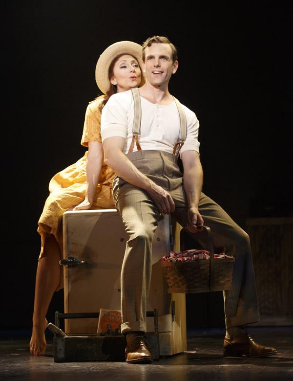 Bright Star: Carmen Cusack and Paul Alexander Nolan - Photo: Joan Marcus