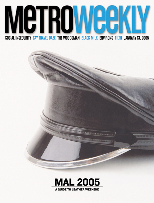02.20.03 Metro Weekly Cover
