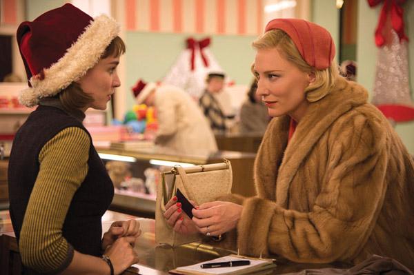 Carol: Rooney Mara & Cate Blanchett