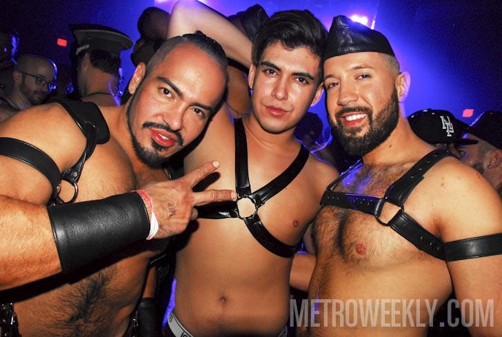 Leather gay club