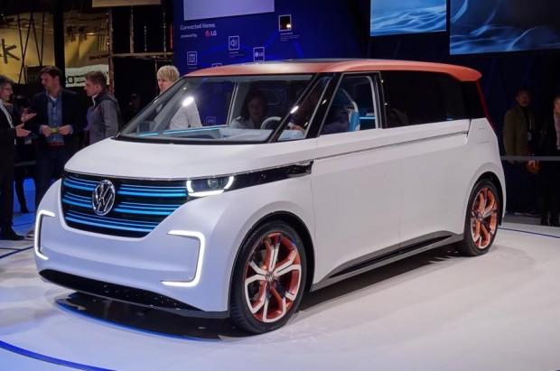 Volkswagen BUDD-e (Credit: Volkswagen)