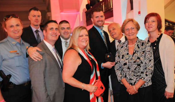 Some of the award winners and attendees at the 2015 Capital Pride Heroes Gala. Photo by Ward Morrison.