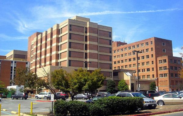 Georgetown University Hospital (Photo: AgnosticPreachersKid, via Wikimedia Commons).