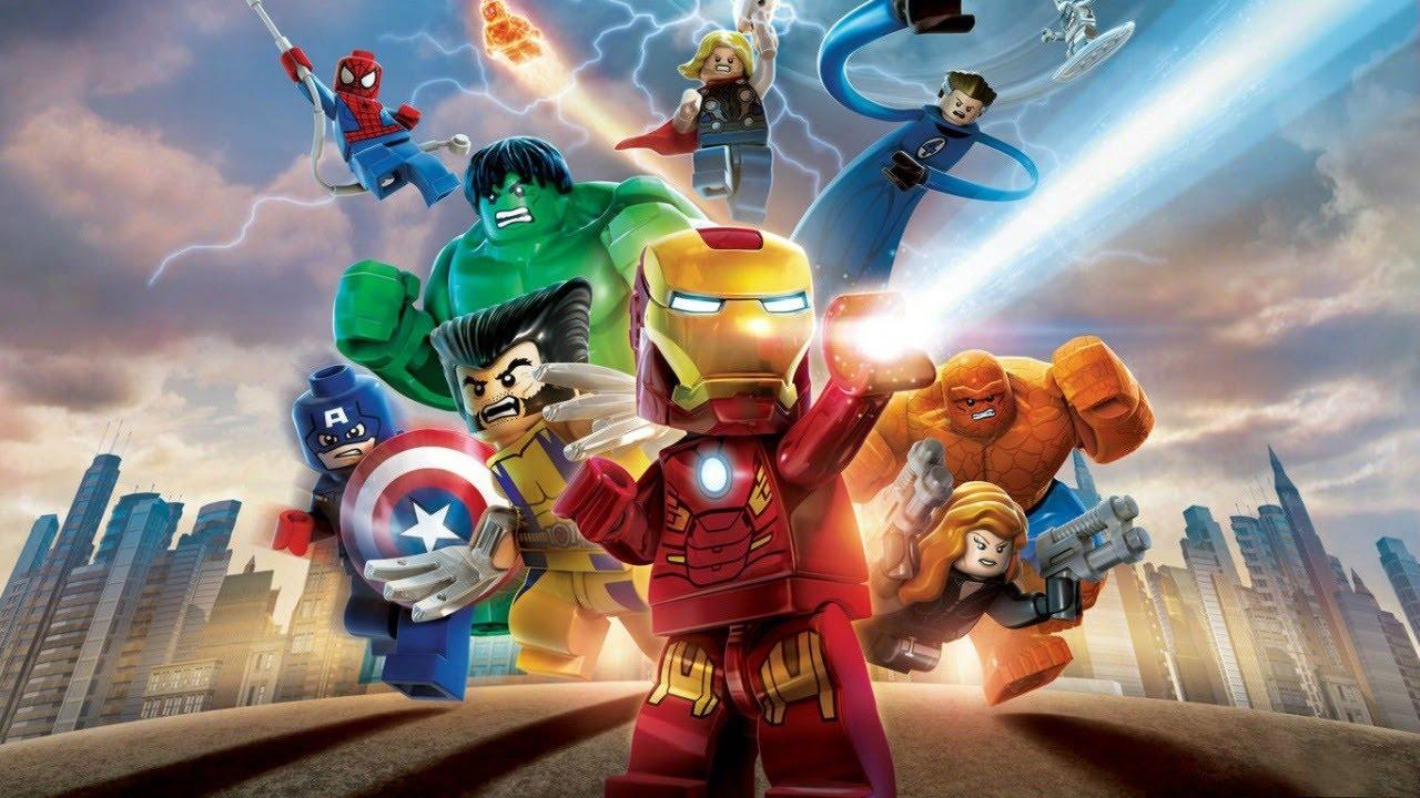 marvel lego the avengers