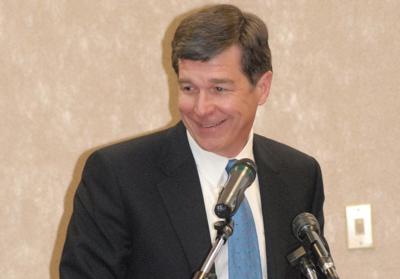 North Carolina Attorney General Roy Cooper (Photo: Airman 1st Class Mindy Bloem, via Wikimedia).