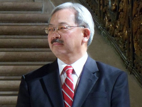 San Francisco Mayor Ed Lee (Zboralski, via Wikimedia).