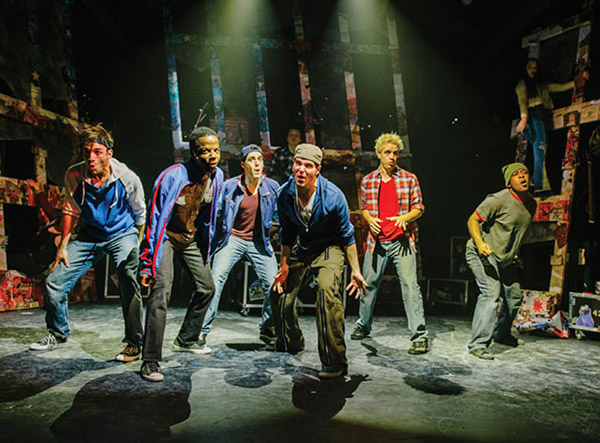 Keegan Theatre's production of Green Day's American Idiot - Photo: Cameron Whitman