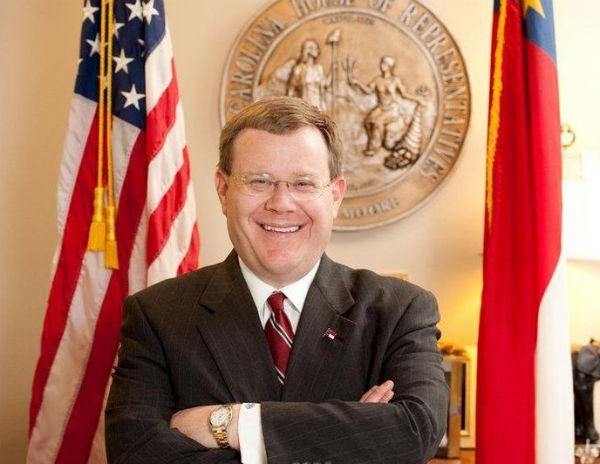 North Carolina House Speaker Tim Moore (Photo: Jbrackett74, via Wikimedia).