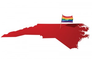 LGBT Flag in Red State