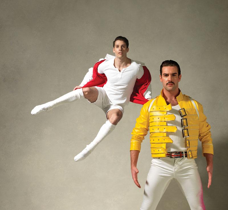 The Washington Ballet_Bowie & Queen - Corey Landolt (L) and Daniel Roberge by Dean Alexander